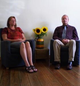mediteren kan overal- mediteren in een stoel