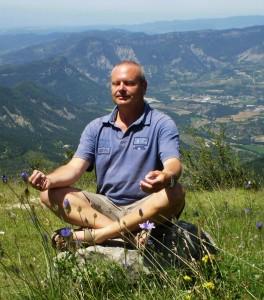 Mediteren in lotushouding